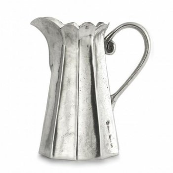 Tall Scalloped Pitcher