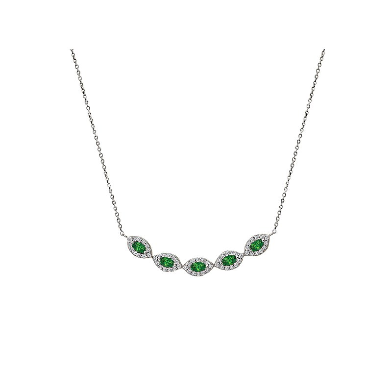 Tesoro Ladies Fashion Gemstone Necklace