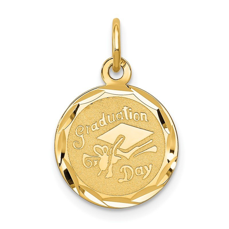 Quality Gold 14k GRADUATION DAY Cap Charm