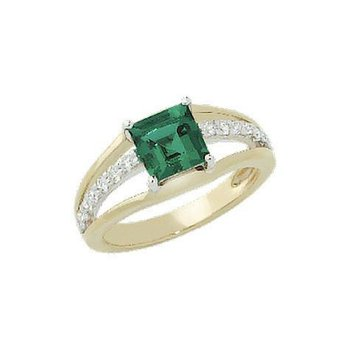 Emerald Ring-CR7251YWEM