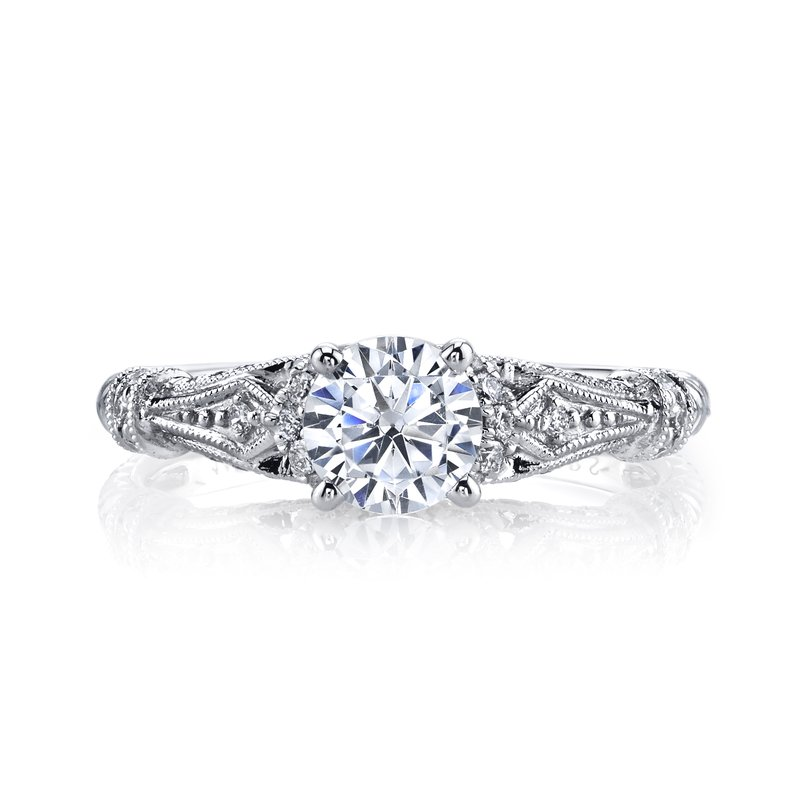 MARS Jewelry MARS 25878 Diamond Engagement Ring 0.25 Ctw.