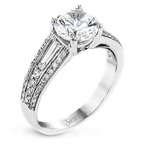 Simon G MR2628-A ENGAGEMENT RING