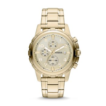 Dean Chronograph Gold-Tone Stainless Steel Watch