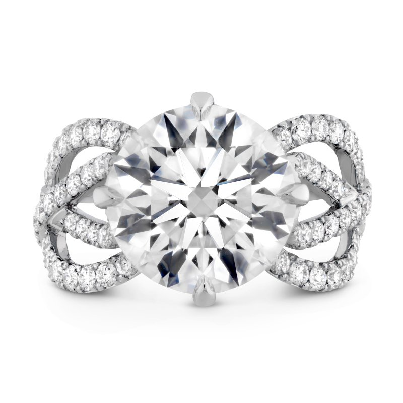 Hearts on Fire The Valencia Diamond Ring