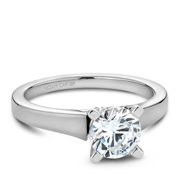 Noam Carver Modern Engagement Ring B006-03A