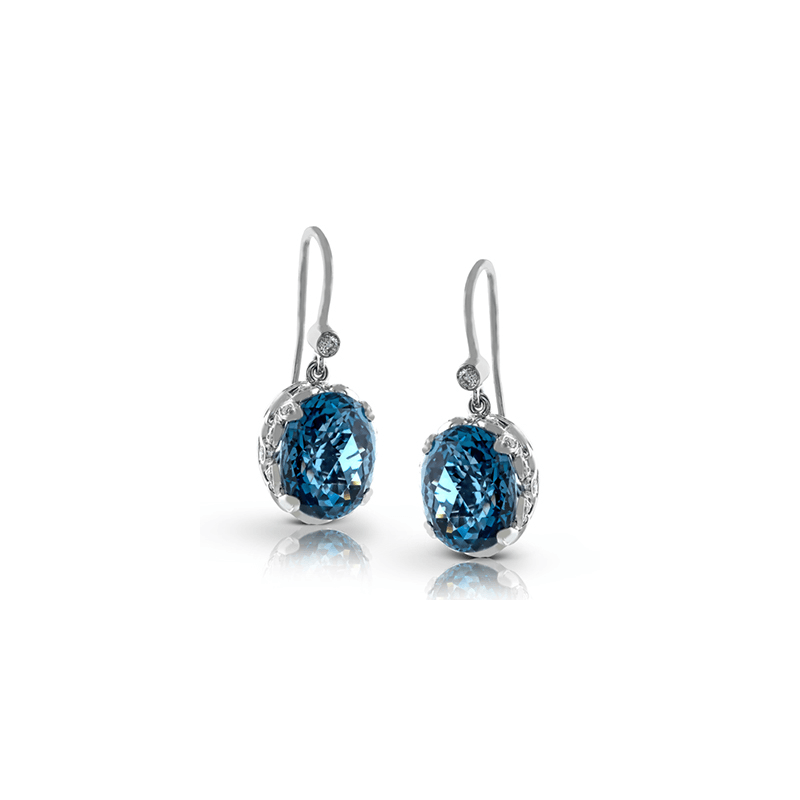 Zeghani ZE235 COLOR EARRING