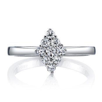 MARS 26144 Diamond Engagement Ring, 0.32 Ctw.
