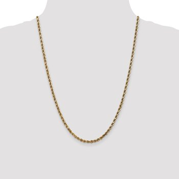Leslie's 14K 3.5mm Diamond-Cut Rope Chain
