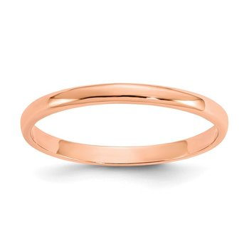 14K Rose Gold Madi K Polished Ring