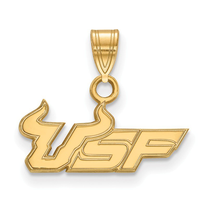 NCAA Gold University of South Florida NCAA Pendant