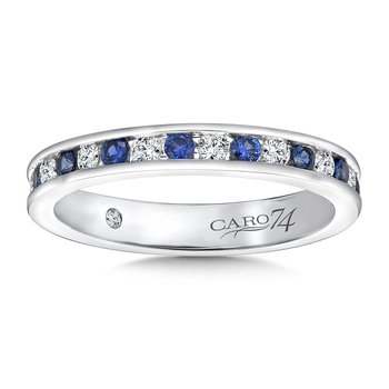 CARO 74 Eternity Band (Size 6.5) in 14K White Gold (0.376ct. tw.)