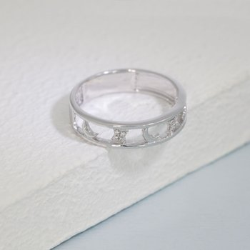Reach For The Moon Sterling Silver Ring