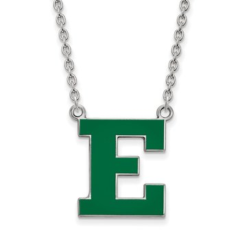 Sterling Silver Eastern Michigan University NCAA Necklace