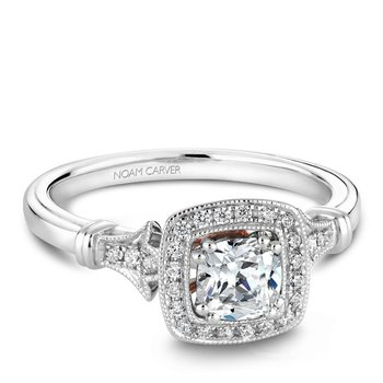 Noam Carver Vintage Engagement Ring B076-01A