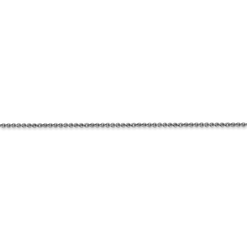 Leslie's 18K Leslie's WG 1.15mm Solid D/C Cable Chain