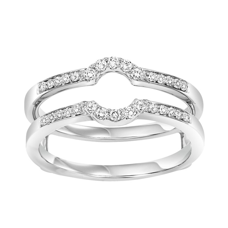 Bridal Bells 14K Diamond Insert Ring 1/4 ctw