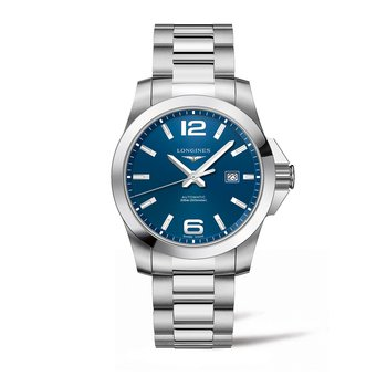 Conquest Automatic Blue Dial Men's Watch