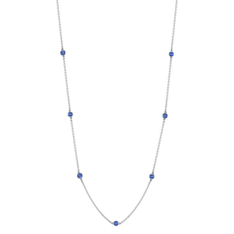 "Omi Prive Sapphire ""By the Yard"" Chain"