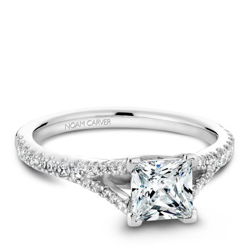 Noam Carver Fancy Engagement Ring B093-01A