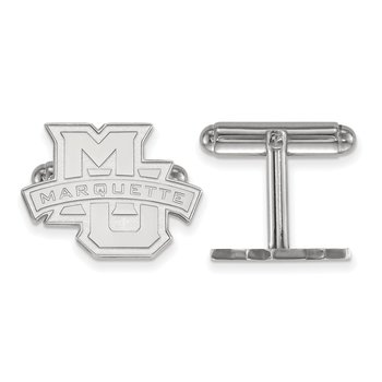 Sterling Silver Marquette University NCAA Cuff Links