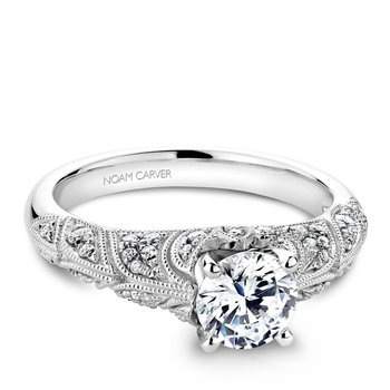 Noam Carver Vintage Engagement Ring B056-01A