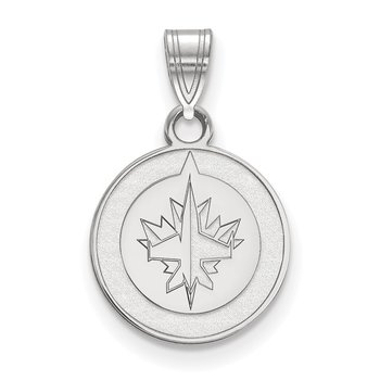 Gold Winnipeg Jets NHL Pendant