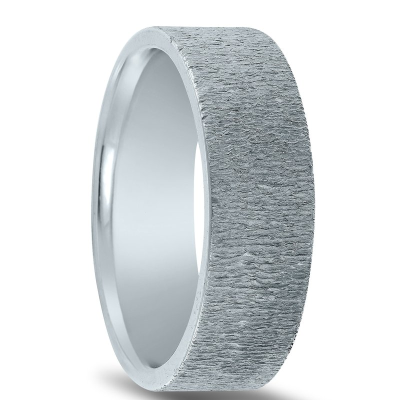 Novell N17214 - Men's Wedding Band with Organic Finish