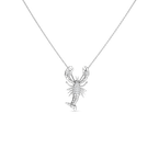 Roberto Coin 18Kt White Gold Diamond Lobster Pendant