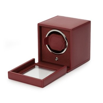 Cub Winder with Cover, Bordeaux Leather