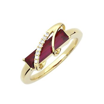 Ruby Ring-CR13117YRU