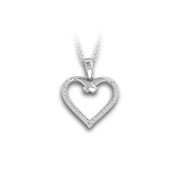 14K 0.14Ct Diamond Pendant