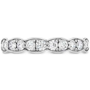 0.7 ctw. Lorelei Floral Diamond Band Large