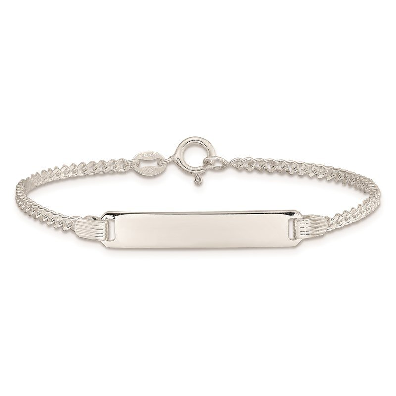 Quality Gold Sterling Silver Children's ID Bracelet