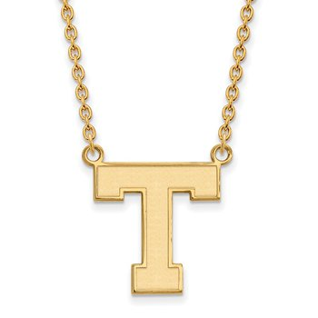 Gold-Plated Sterling Silver Tarleton State University NCAA Necklace