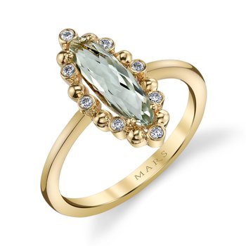 MARS 26926 Fashion Ring, 0.09 Dia. 1.03 G Ameth.