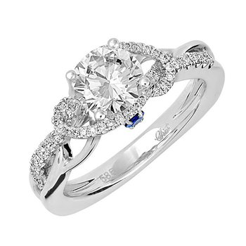 Bridal Ring-RE12686W10R
