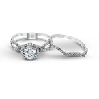 Zeghani ZR624 WEDDING SET