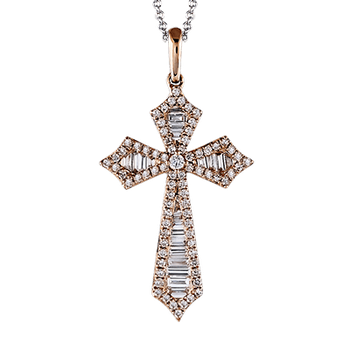 ZP435 CROSS PENDANT