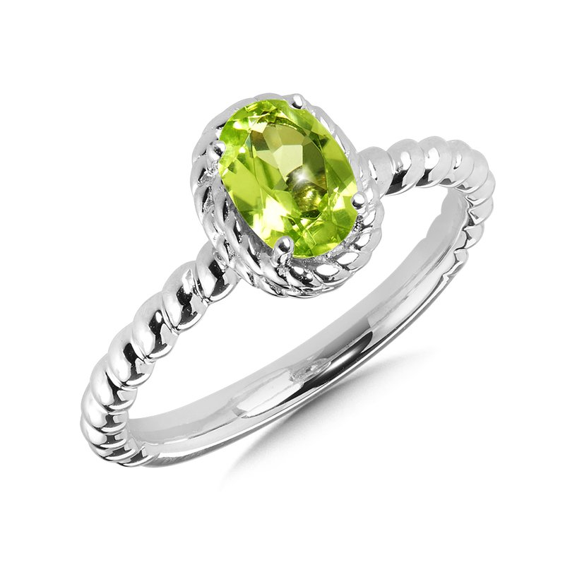 SDC Creations Peridot Ring in Sterling Silver