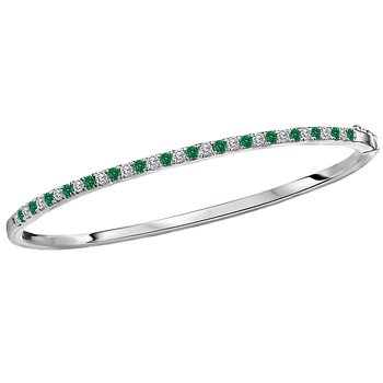Ladies Fashion Diamond and Gemstone Bracelet