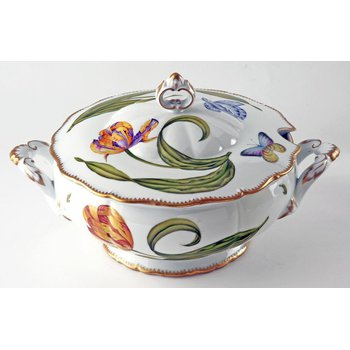 Round Soup Tureen