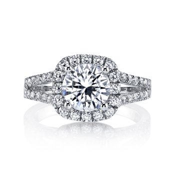 MARS 25563 Diamond Engagement Ring 0.91 Ctw.