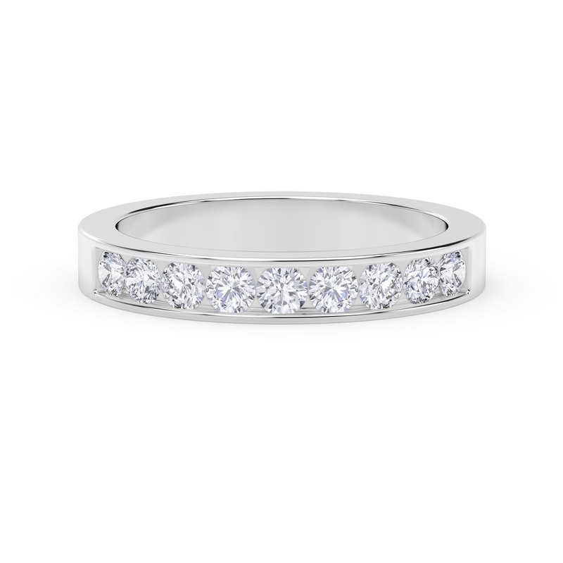 Forevermark Engagement and Commitment Channel Set Band