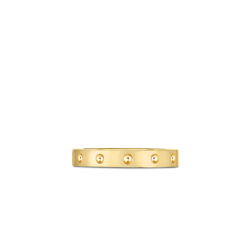 Roberto Coin 18KT GOLD SYMPHONY POIS MOI BAND RING