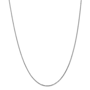 14k WG 1.3mm Box Chain