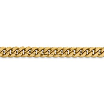 14k 9.3mm Semi-Solid Miami Cuban Chain