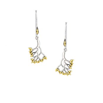 Tree of Life Hook Earrings Small