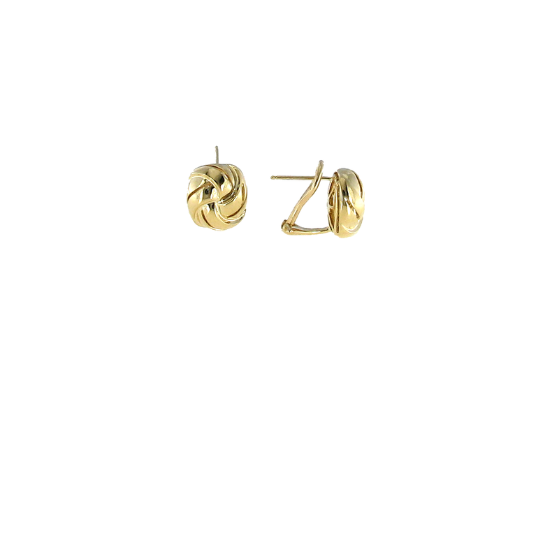 Roberto Coin 18Kt Gold Small Knot Earring
