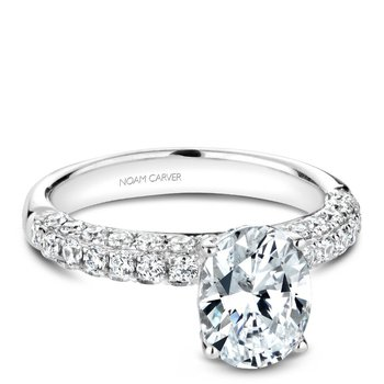 Noam Carver Fancy Engagement Ring B216-01A