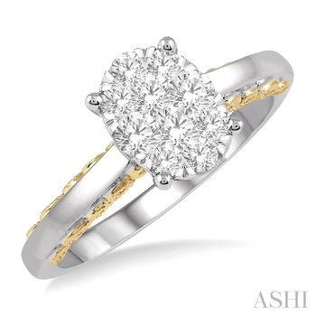 oval shape lovebright bridal diamond ring